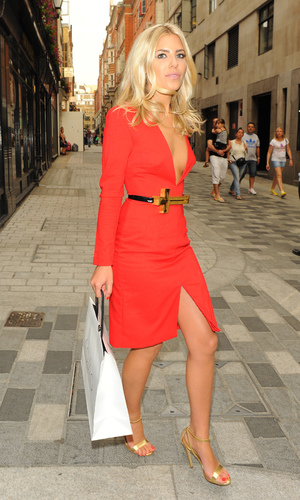 AQ/AQ Relaunch Party on Carnaby Street - 23.7.13 - Mollie King