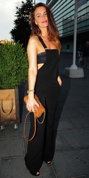 Jennifer Metcalfe attend the opening of Browns Bar & Brasserie