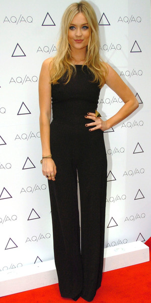 Laura Whitmore AQ/AQ Relaunch Party on Carnaby Street