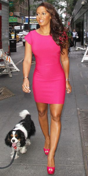 Melanie Brown at The 'Today Show', New York, America - 22 Jul 2013