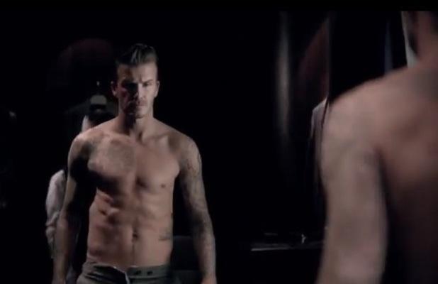 David Beckham Youtube fragrance video
