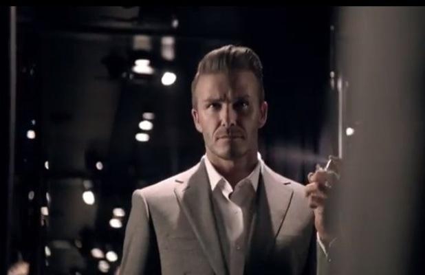 David Beckham Classic Perfume video