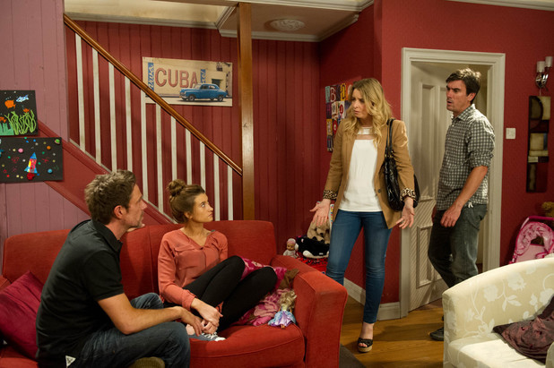 Emmerdale, Charity and Cain catch Debbie and Cameron, Tue 30 Jul