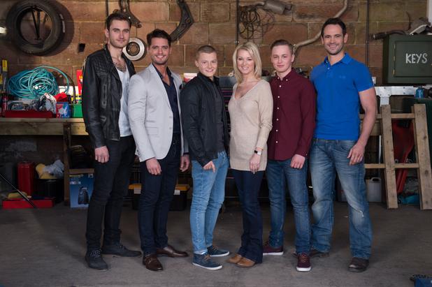 Hollyoaks, The Roscoe family generic (no Lindsey).