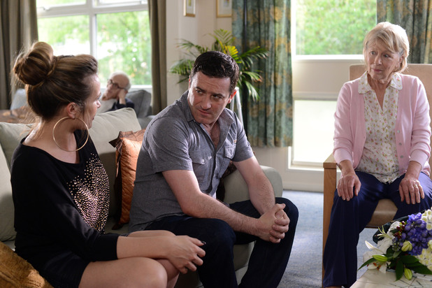 EastEnders, Kristy visits Carl's mother, Tue 23 Jul