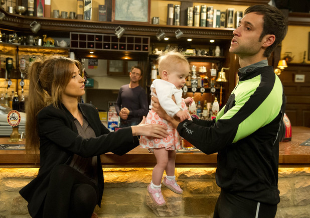 Emmerdale, Nikhil can't cope with Molly, Wed 31 Jul