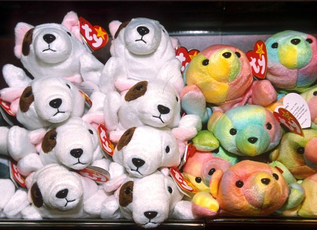 Chris's father spent a fortune on beanie babies