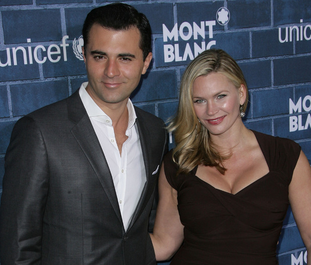 Darius Campbell, Natasha Henstridge: Montblanc and UNICEF celebrate the launch of their new 'Signature For Good 2013 Initiative' at a pre-Oscars charity brunch at Hotel Bel-Air - Arrivals23 February 2013