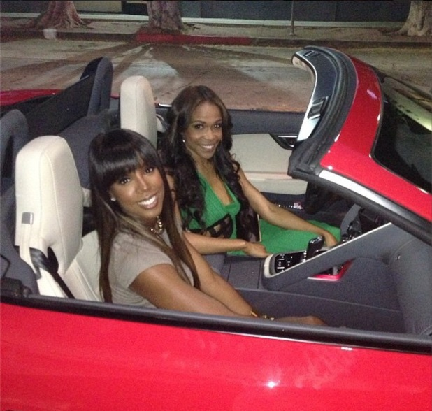 Michelle Williams celebrates 32nd birthday with Kelly Rowland - 23 July 2013