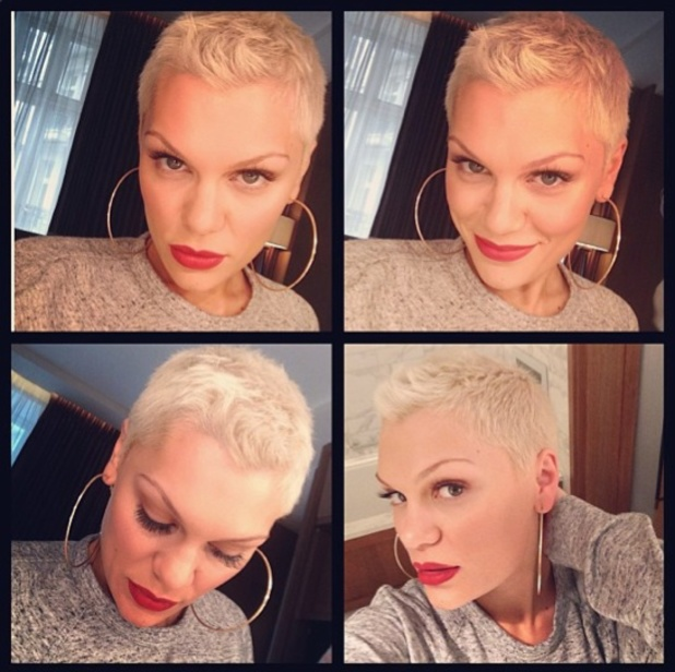 Jessie J's new Tintin hairstyle, Instagram, 23 July 2013