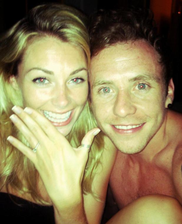 Danny Jones from McFly gets engaged to Georgia Horsley - 26 July 2013