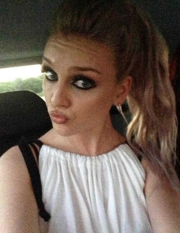 Perried Edwards smoky make-up on Twitter after Ponty Big Weekend