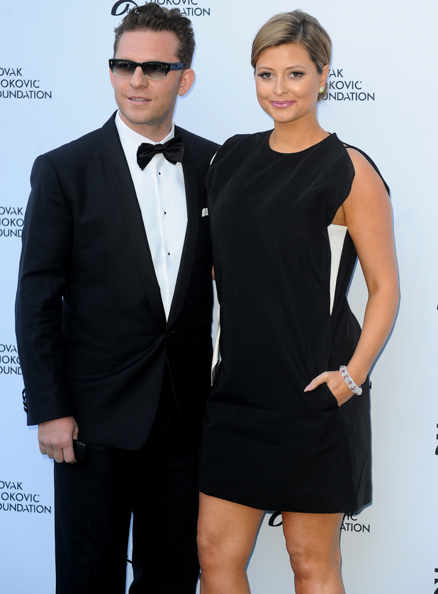 The Novak Djokovic Foundation Gala Dinner at The Roundhouse Person In Image:	Holly Valance, Nick Candy