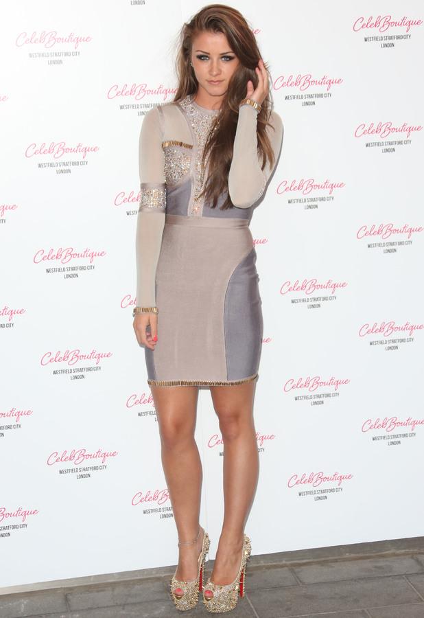 Brooke Vincent CelebBoutique store launch party held at Westfield Stratford - Arrivals