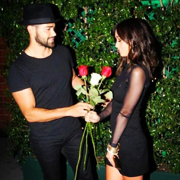 Jesse Metcalfe and Cara Santana (12 July 2013)