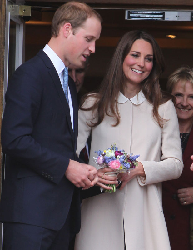 Kate Middleton and Prince William's royal baby announced in easel - 22 July 2013