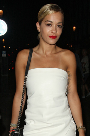 Rita Ora leaving E&O Restaurant in Notting Hill after dining with friends PersonInImage:	Rita Ora Credit :	Spiller/WENN.com Special Instructions : Date Created :	07/16/2013 Location :	London, United Kingdom