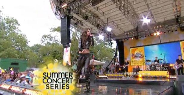 'Good Morning America' TV show, Summer Concert Series, New York, America - Selena Gomez 26 Jul 2013
