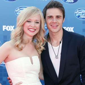 American Idol Grand Finale 2011, Los Angeles, America - 25 May 2011 Kris Allen and Katy Allen 25 May 2011