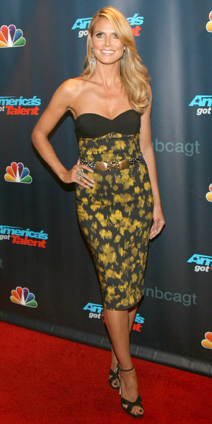 Heidi Klum at America's Got Talent at Radio City Music Hall