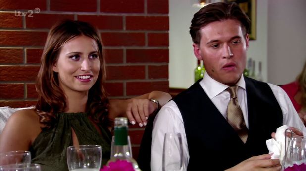 Ferne McCann and Charlie Sims from TOWIE - 30 July 2013