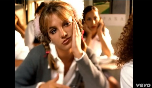 Britney Spears' music videos over the years