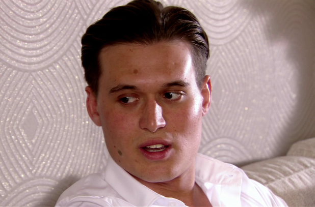 Charlie Sims appears in The Only Way Is Essex (TOWIE) - 10 June 2013
