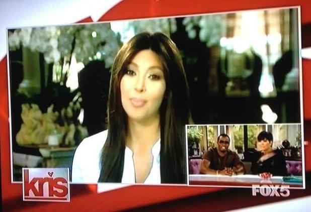 Kim Kardashian appears on Kris - 2 August 2013
