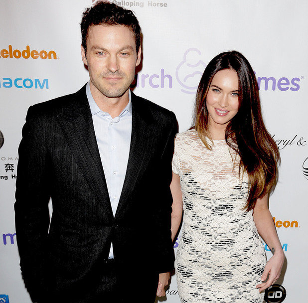 Brian Austin Green and Megan Fox - March of Dimes celebration of babies luncheon - 7.12.12