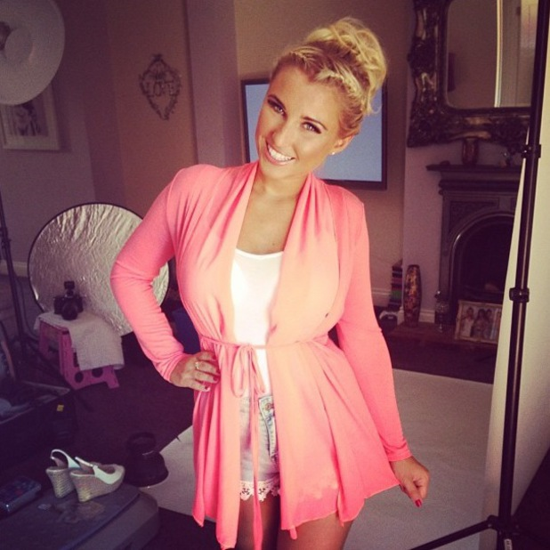 Billie Faiers models new Minnies Boutique stock TOWIE