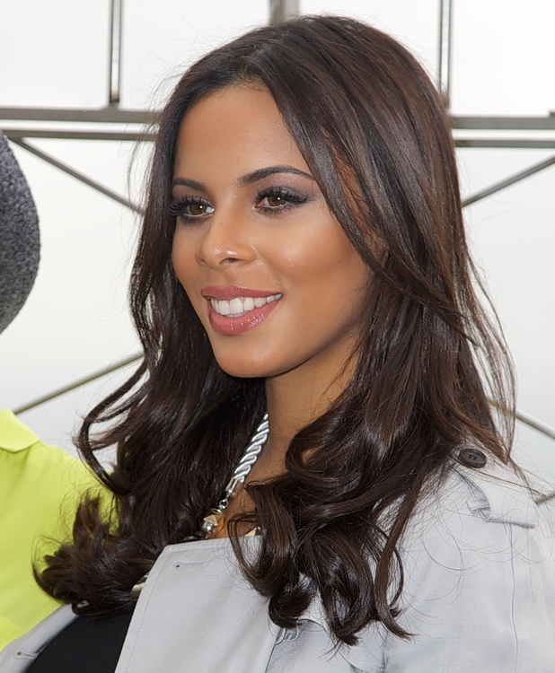 Rochelle Humes, The Saturdays promoting their new American reality-documentary television series 'Chasing The Saturdays' at the Empire State Building in New York City, 11 March 2013