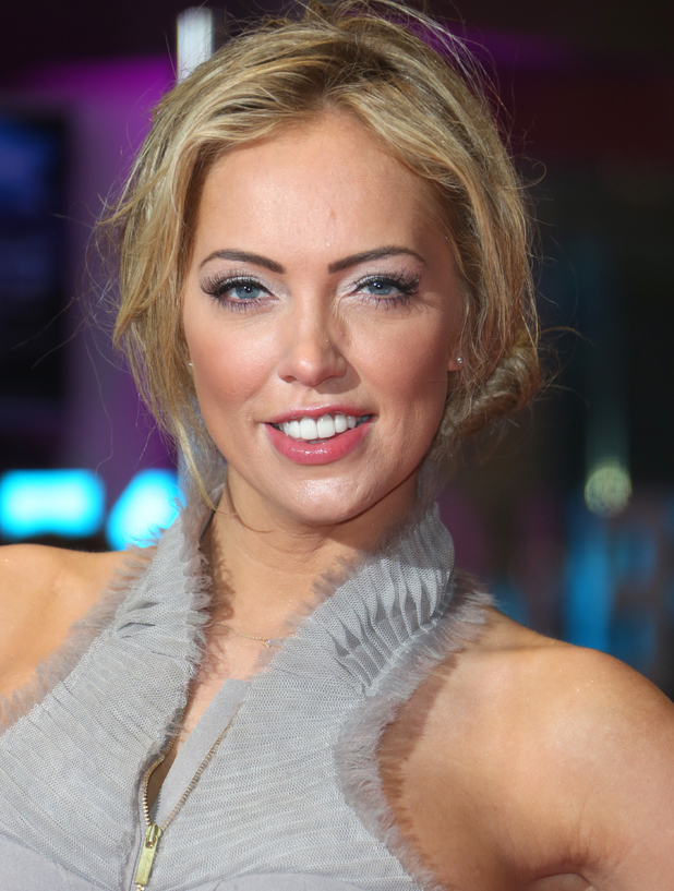 Aisleyne Horgan-Wallace attends Run for your wife UK film premiere held at the Odeon Leicester Square - Arrivals. 2 May 2013.