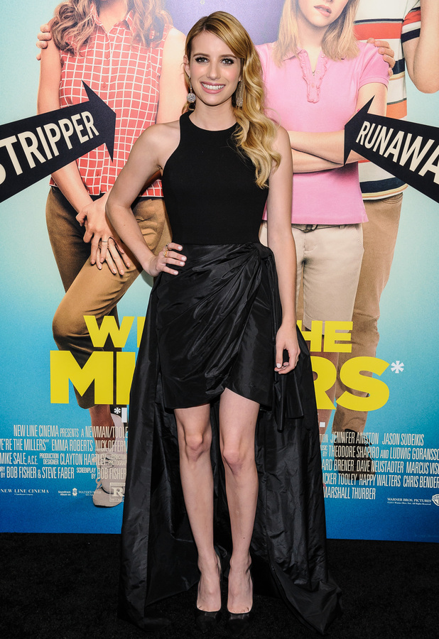 Emma Roberts at World Premiere of 'We're The Millers' at the Ziegfeld Theater