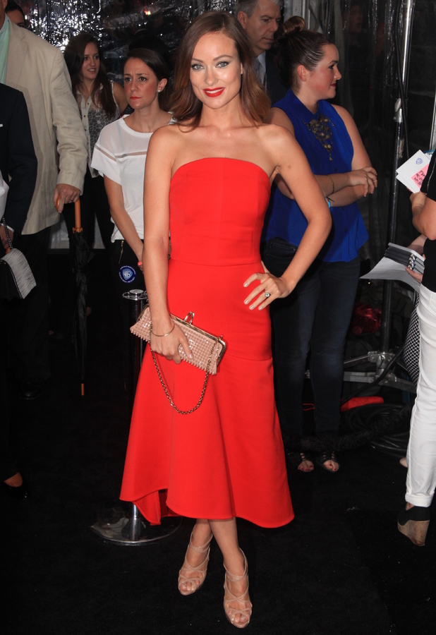 Olivia Wilde at World Premiere of 'We're The Millers' at the Ziegfeld Theater