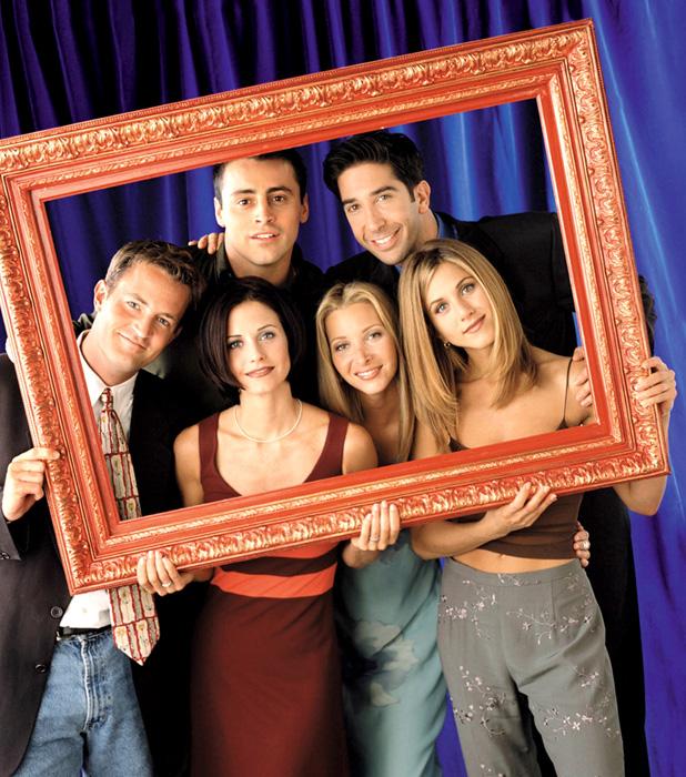Matthew Perry (as Chandler Bing), Courteney Cox Arquette (as Monica Geller), Matt LeBlanc (as Joey Tribbiani), Lisa Kudrow (as Phoebe Buffay), David Schwimmer (as Ross Geller), Jennifer Aniston (as Rachel Green)Friends (NBC) season 7 USA - 2000-2001