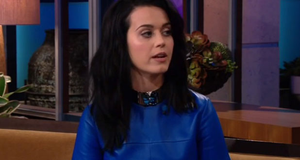 Katy Perry on The Tonight Show with Jay Leno, 27 July 2013