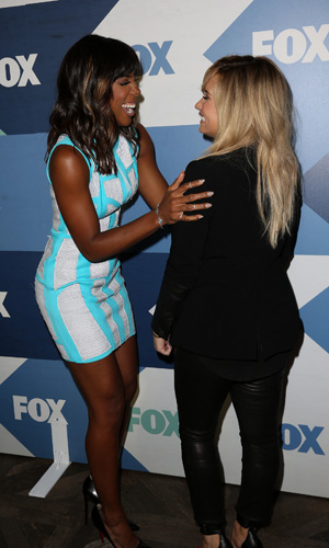 FOX Summer TCA 2013 All-Star Party Caption:	Celebrities attend Fox Summer TCA All Star Party. Kelly Rowland, Demi Lovato Credit :	Brian To/WENN.com Special Instructions : Date Created :	08/01/2013 Location :	Los Angeles, United States Object Name :