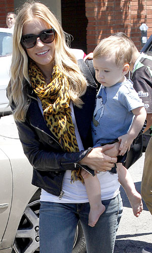 Kristin Cavallari and Baby Camden Have Lunch at Lemonade, 30 July 2013