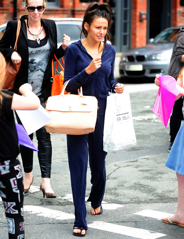Michelle Keegan out and about, Manchester, Britain - 31 Jul 2013