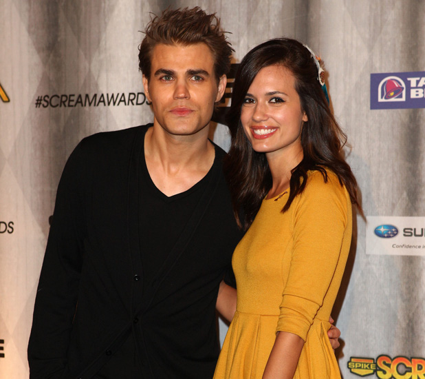 Paul Wesley, Torrey DeVitto Spike TV's Scream Awards 2011- Arrivals Los Angeles, California - 15.10.11 Date Created :	10/15/2011 Location :	Universal City Object Name :	Paul Wesley, Torrey DeVitto Copyright Notice :	B.Dowling/WENN.com
