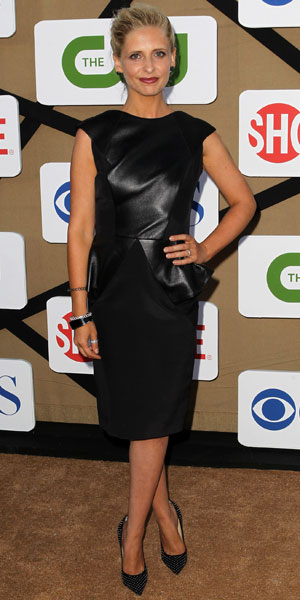 CW, CBS and Showtime 2013 Summer TCA Party - Arrivals - Sarah Michelle Gellar, 29 July 2013