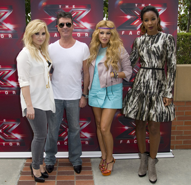 x-factor-us jpg  X Factor Judges 2013 Demi Lovato