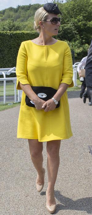 Glorious Goodwood Horse racing meeting, West Sussex, Britain - 01 Aug 2013 Zara Phillips