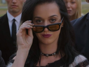 Katy Perry in a teaser for her Roar single, August 2013