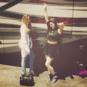 Khloe Kardashian and Kylie Jenner - 8 August 2013