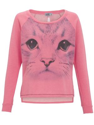 Lipsy cat motif jumper, £30