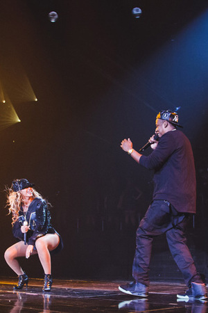 Beyonce brings Jay-Z out for final Brooklyn concert