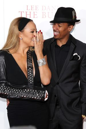 'The Butler' film premiere, New York, America Mariah Carey and Nick Cannon 5 Aug 2013
