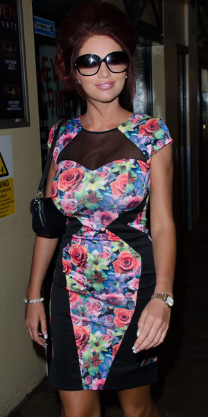 Amy Childs WAG! The Musical - VIP night at the Charing Cross Theatre