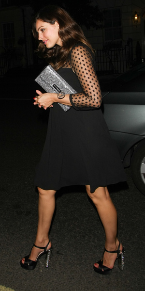Kelly Brook puts her recent heartache behind her as she parties at Mayfair's Mahiki, Aug 9